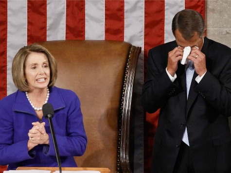 Poll: Boehner Replaces Pelosi as Least Popular Congressional Leader