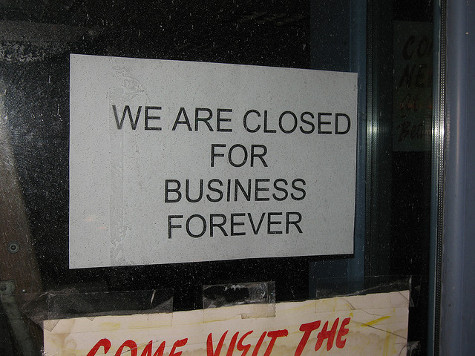 Census Shows 200,000 Small Businesses Shut Down From 2008-2010