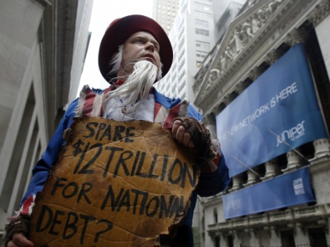 CBO: Interest on U.S. Debt to Quadruple by 2024