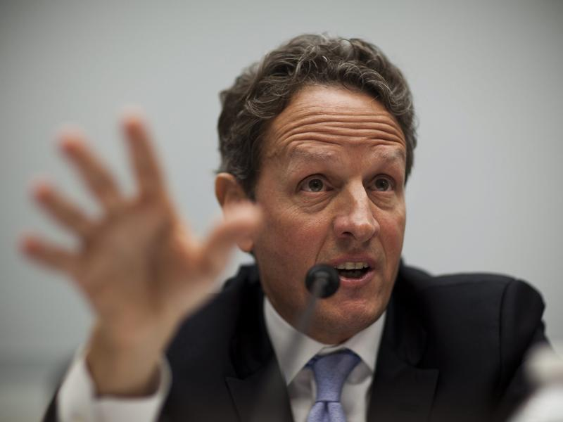 E-mails Show Geithner, Treasury Terminated Pensions of Non-Union Workers