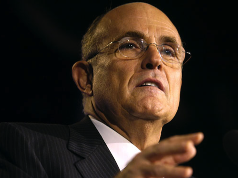 Giuliani Blasts Obama Over Israel