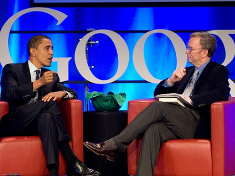 Google Set to Reap Benefit of Strong Obama Backing?