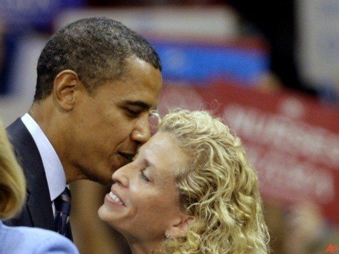 Wasserman Schultz Insists Obama's Campaigning in Senate Races, She's Just Not Sure Where