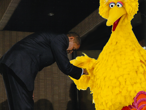 Michelle Obama In Video With Big Bird For Anti-Obesity Campaign