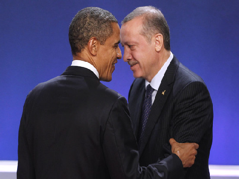 Obama, Erdogan Want Middle East Peace