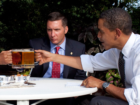 While Red States Drown, White House Releases Beer Recipe
