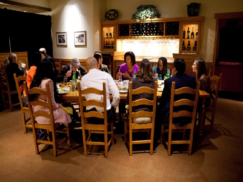 Michelle Obama Thinks Recovery Starts With Her Dining Out