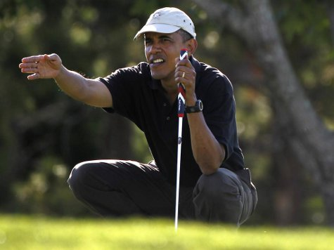 Golf Summit: Obama Hits Links with Senators to Talk Over 'Range of Issues'