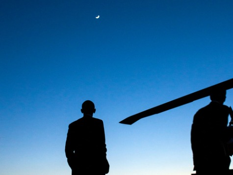 To Honor Neil Armstrong, Obama Posts Photo of Himself