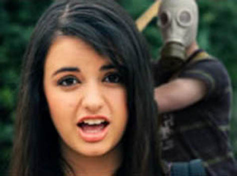 Anarchists: Down with Capitalism; Here's a Pic of Rebecca Black About to Be Bludgeoned