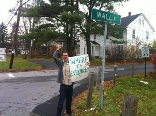Occupy Wall Street Is Broke