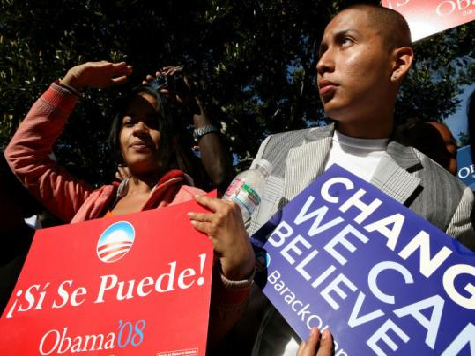 Obama Worried about Black and Hispanic Vote