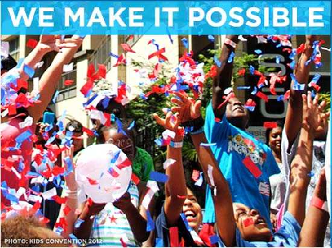 Charlotte Motto for DNC: We Make It Possible
