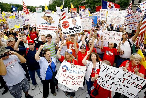 Tea Party Recaptures 2010 Momentum