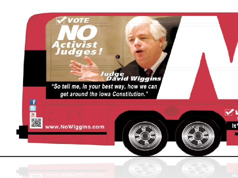 Iowa: 'No Wiggins' Bus Tour To Oust Judge Can Help Romney