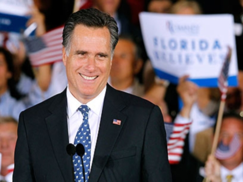 Romney Takes Electoral College Lead for 1st Time