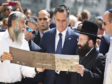 Romney Tops List  Non-Jews for Jewish Future