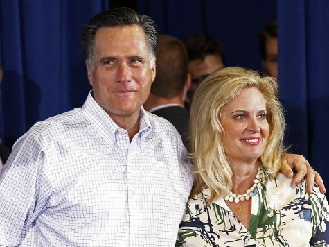 Ann Romney: Mitt and I Are 'Done' with the Presidency