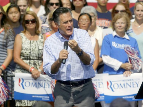Romney Attacks Obama Defense Cuts in Virginia