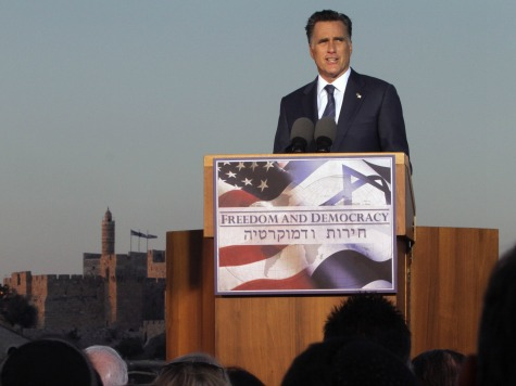 85% of Israel's American Jewish Voters Pick Romney