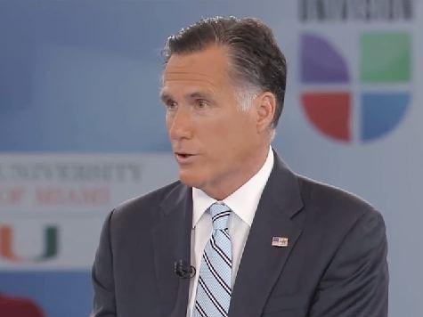 Romney: Obama Threw 'White Flag Of Surrender'