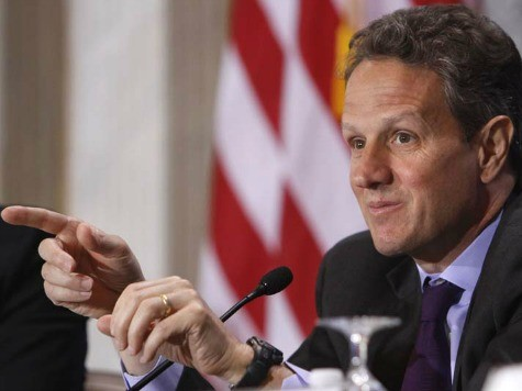 Geithner: Obama 'Absolutely' Willing to Go Over Fiscal Cliff