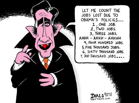 Count Romney, Ahh Ahh Ahh