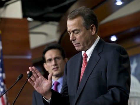 Boehner Pushes Obamacare-Funding CR for Wednesday Vote