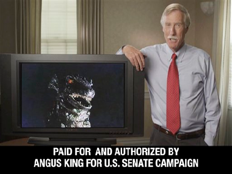 Evaporating: Angus King Lead in Maine