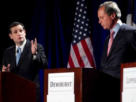 Cruz Leads Dewhurst by Ten Points Heading into Runoff