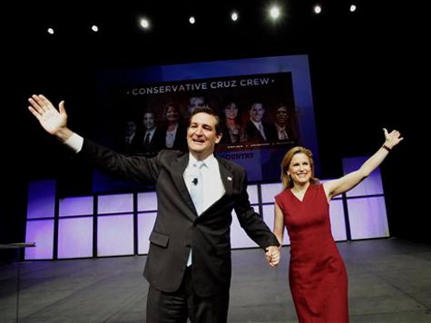 Tea Party-Backed Cruz Wins Texas Senate Seat