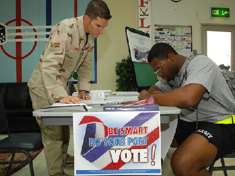 Some States Not Sending Absentee Ballots to Military