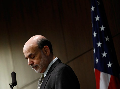 Bernanke: Looming 'Fiscal Cliff' Already Harming Economy