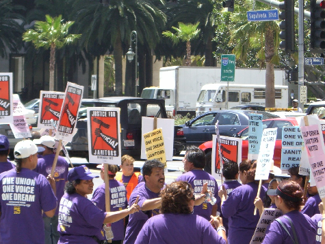 SEIU Janitors Conduct Same Old Strikes