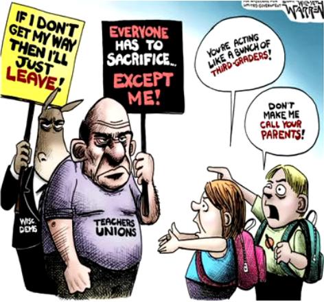 California Teacher Stands Up to Teachers' Union