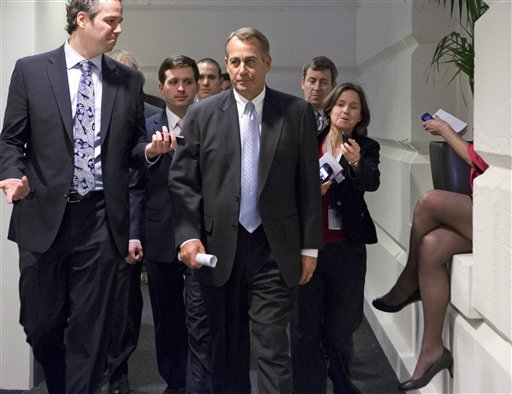 Will Boehner Violate 'Hastert Rule' with 'Fiscal Cliff' Vote?