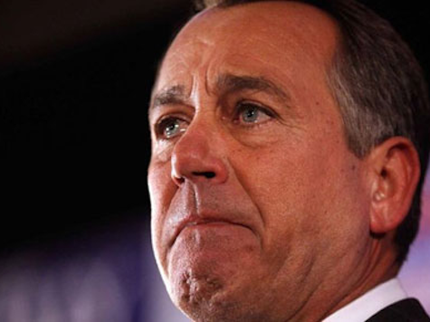 Humbled Boehner Retains Speakership on Close First Ballot