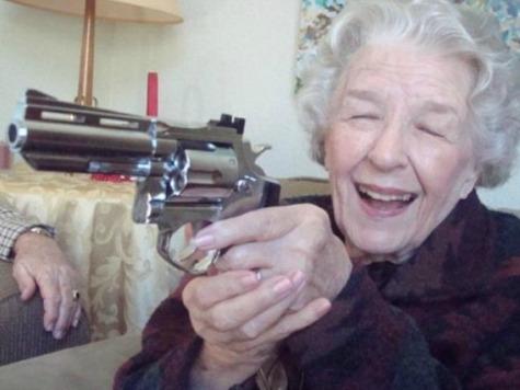 Gun-Carrying Grandma Stops Knife-Wielding Robber