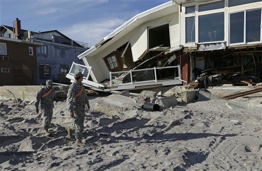 Sandy Relief Dwarfs Past Aid Packages