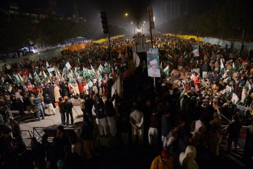 Pakistan Protesters Set for Showdown with Government