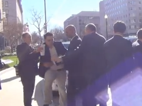 EXCLUSIVE: Journalist Accosted by Security over Mayor Bloomberg Gun Control Question