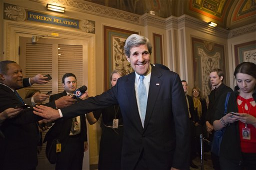 Senate Confirms Kerry Nomination for State Dept.