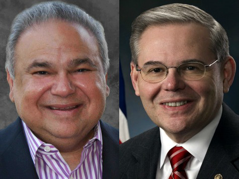 Menendez Donor Hides Private Jet Flight Path Data from Public