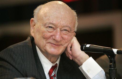Ed Koch, Betrayed by Obama