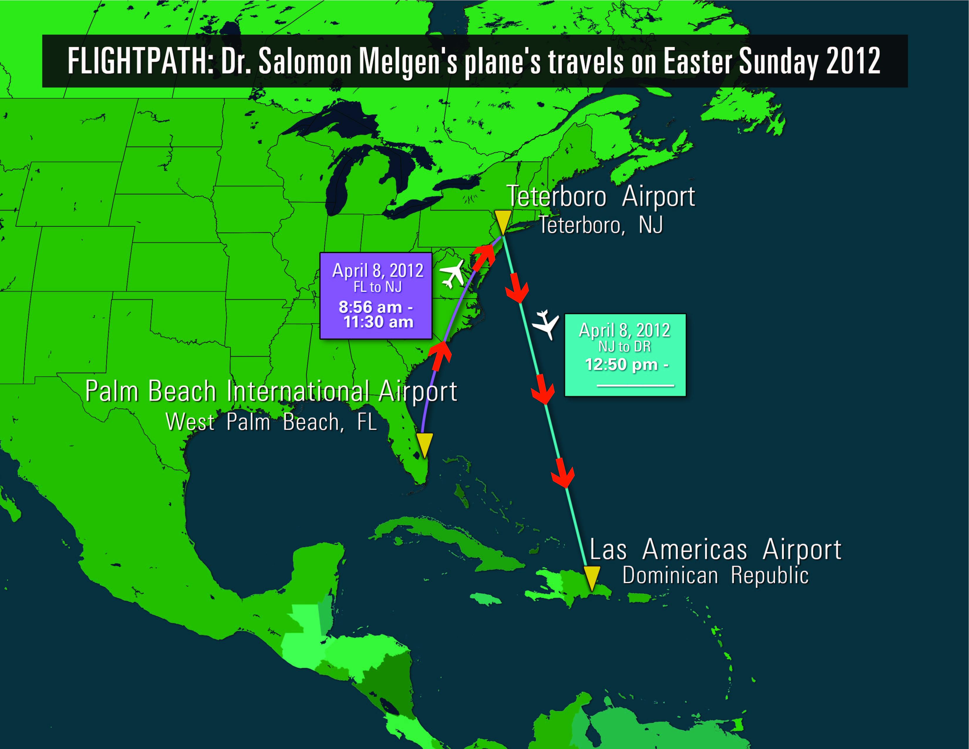 Spring Break: Flight Records Suggest Fourth Menendez Flight