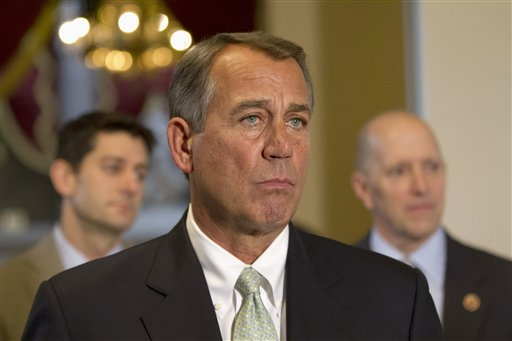 Boehner Steadies GOP Team, Reframes Deficit Debate