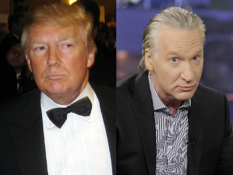 Exclusive–Trump to Bill Maher: Honor Your Pledge