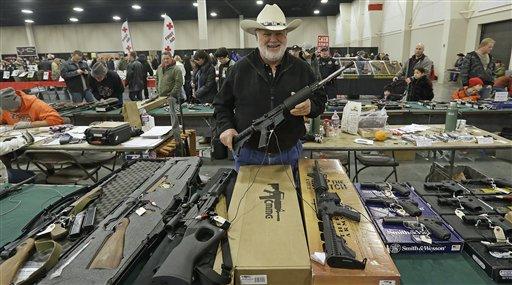 Senators Seek Deal on Gun-sale Background Checks