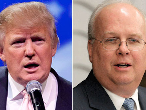 Trump: Rove a 'Total Loser'