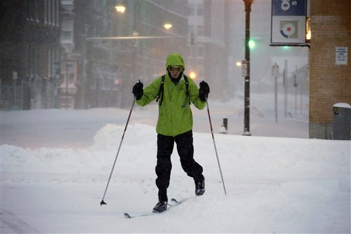 Huge Storm Blankets Northeast with Two Feet of Snow
